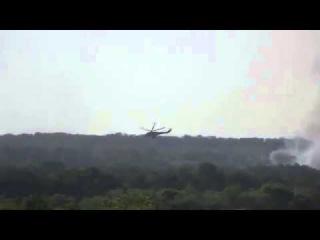 Волноваха Велико-Анадоль 22 05 14 Тяжёлый бой - ракетный обстрел вертолётами