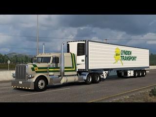 American Truck Simulator - ATS  - Peterbilt truck - Food Cistern - Boise to Provo
