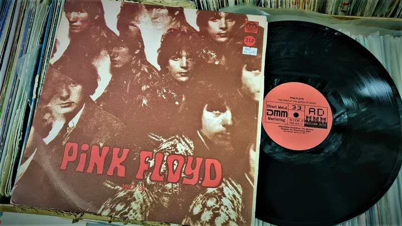 Pink Floyd 1967 68 Часть 2 из 5 Russian Disc 1992 vinyl record HQ