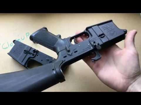 Comparing M16 to AR-15 Lower Receiver