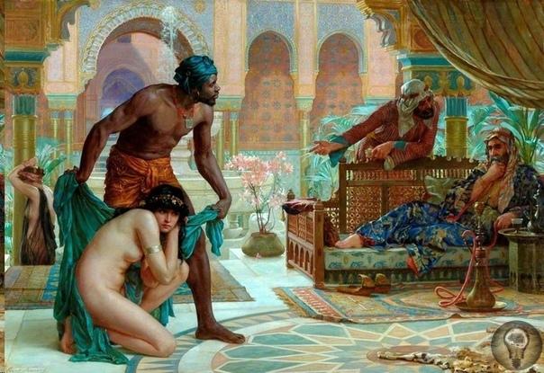 Белые рабы в Западной Европе Все слышали о наших невольницах в султанских гаремах, но мало кто знает об огромном количестве русских девушек, купленных не турками, а христианами-европейцами.