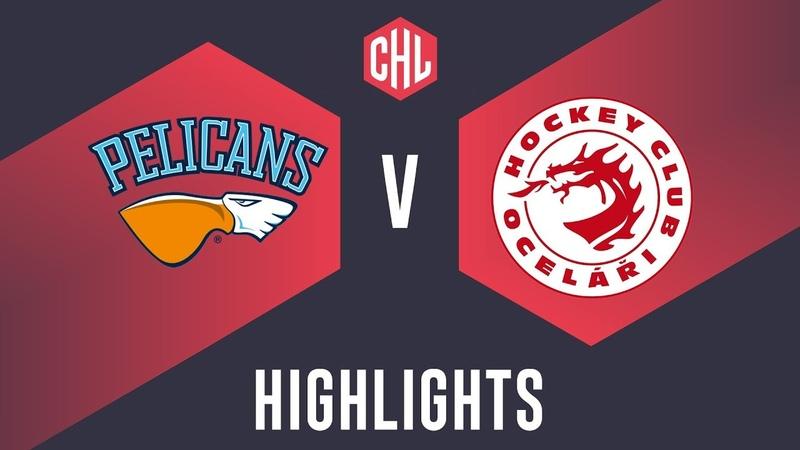 Highlights: Lahti Pelicans vs. Oceláři Třinec