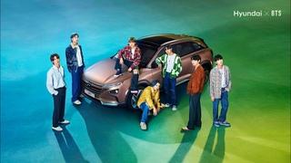 Звезды BTS об электромобилях Hyundai
