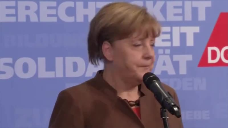 Merkel Geisteskrank !