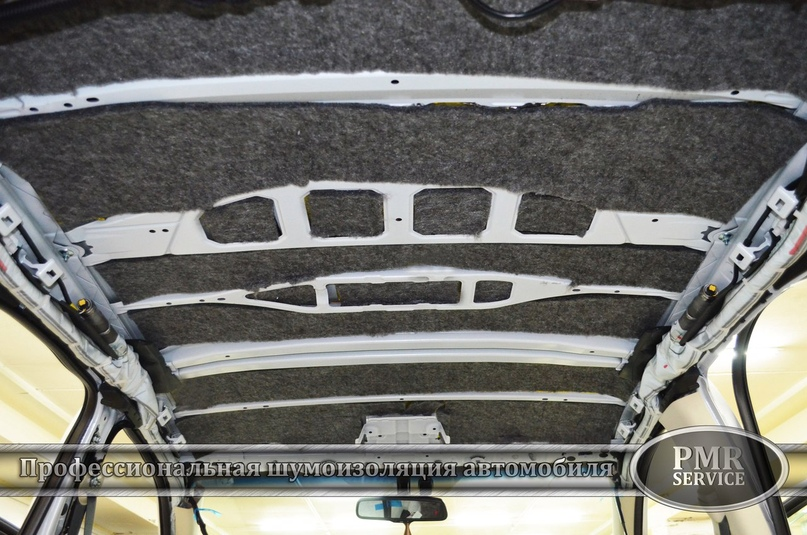 Комплексная шумоизоляция Lexus NX 200, изображение №8