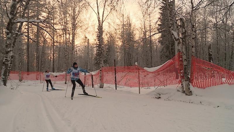 В Новом Уренгое состоялось первенство города по лыжным гонкам