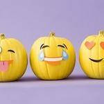 Тыквы-смайлики на Хэллоуин (МК)