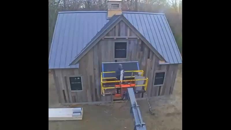 Видеообзор - строительство дома - vk.com/svoimi_rukami_gif