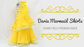 Make your own Daria Mermaid Skirts! (for Belly Dance, Ballroom, Prom & Bridal!)