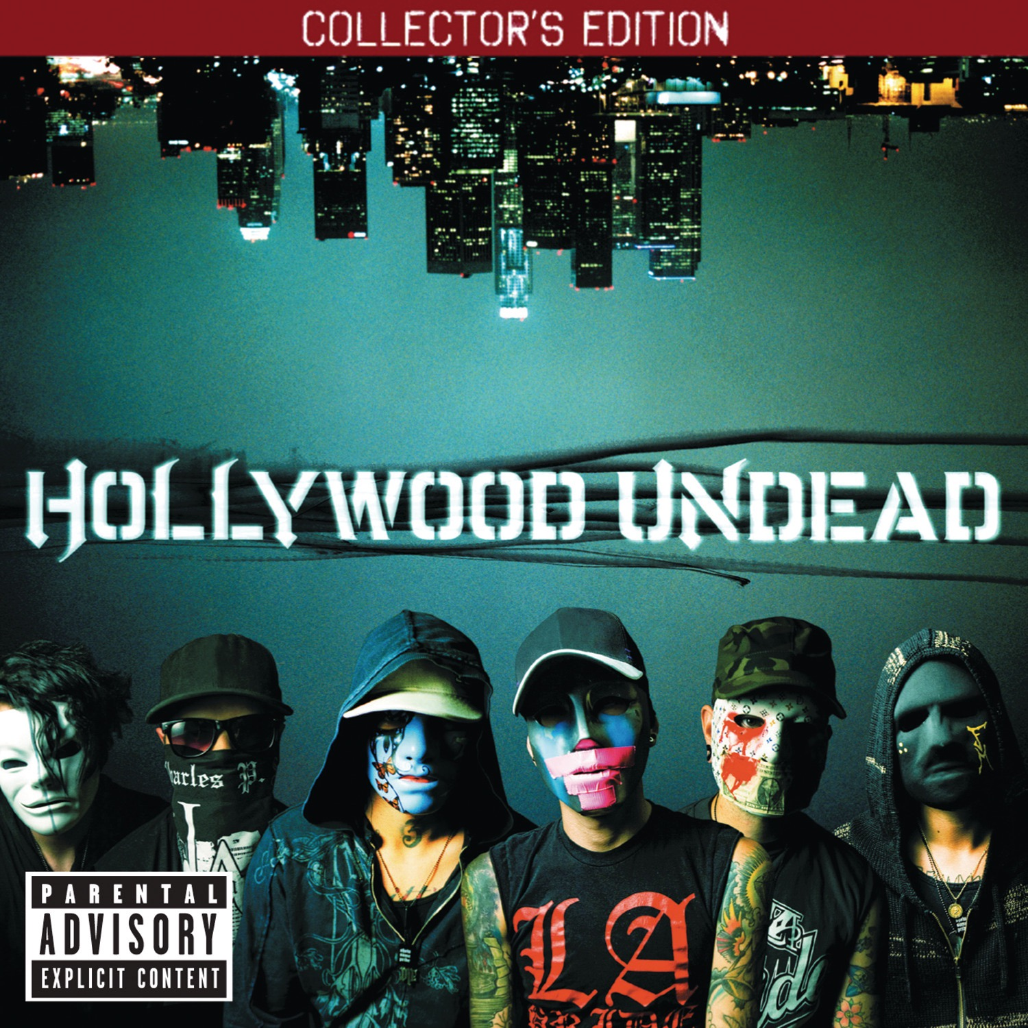Hollywood Undead album Swan Songs (Collector's Edition)