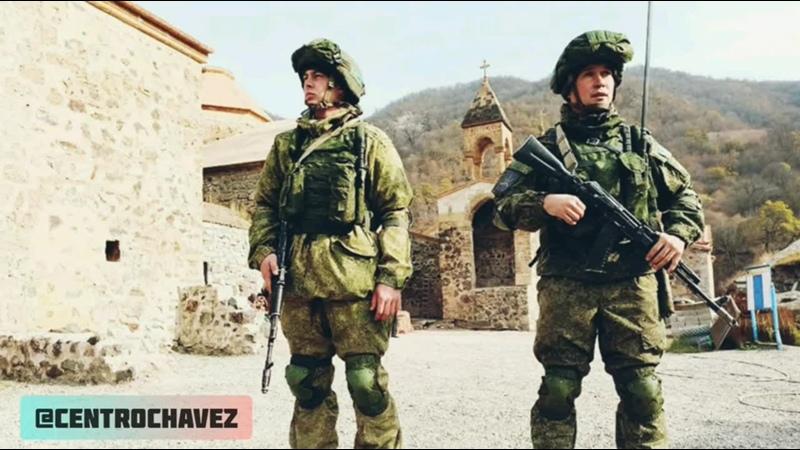 CCHTV Русские миротворцы взяли под защиту святыни Арцаха