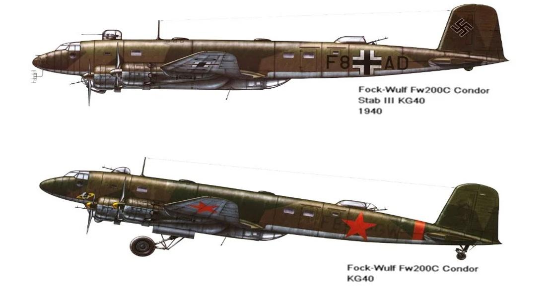 Немецкие самолеты в РККА