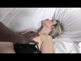 Jenny Smith casting with big black cock