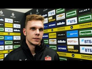 Максим Глушенков: «Только радостные эмоции — это мой первый гол после тяжелой травмы».