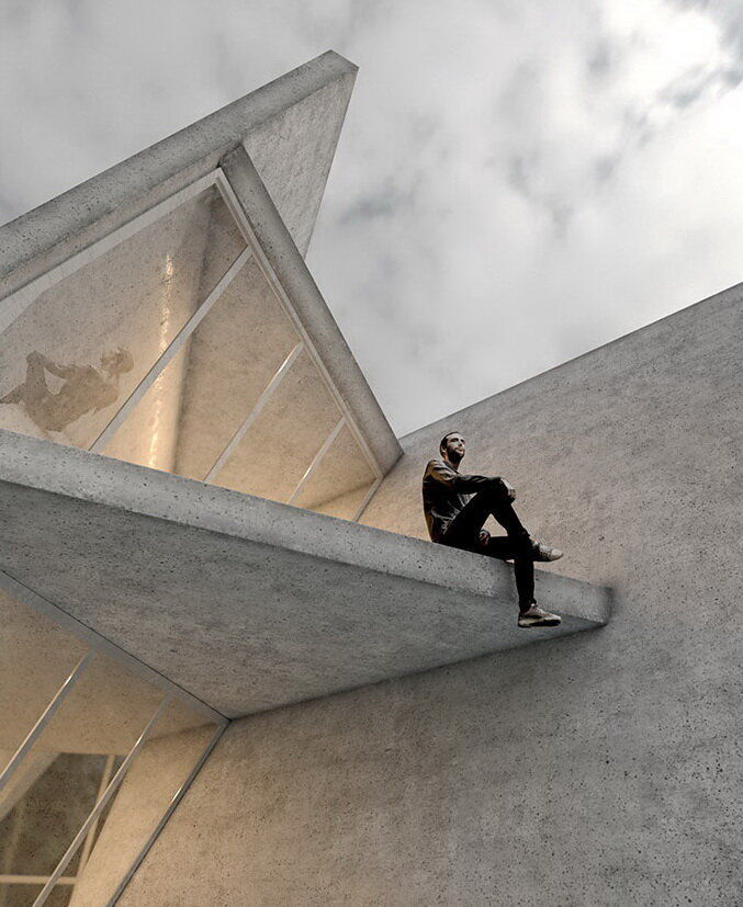 Бетонное «геометрическое чудо» – вилла Sisangan