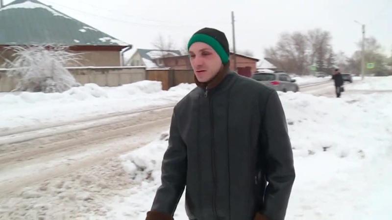 Неубранный снег стал настоящим препятствием для незрячих и слабовидящих людей Бийское телевидение 1