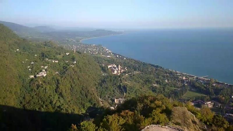 Крепость Анакопия на Иверской горе