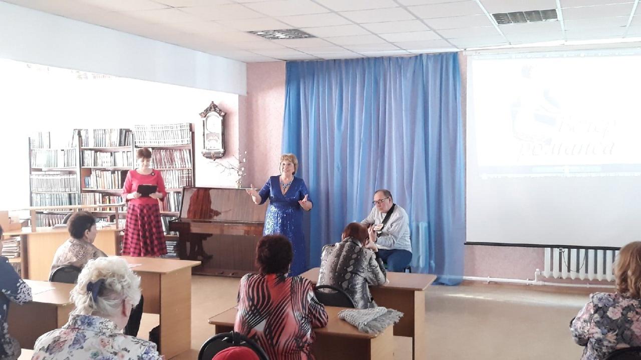 В Центральной библиотеке Петровска состоялся творческий вечер