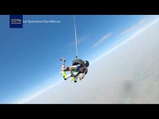 103-летний американец прыгнул с парашютом