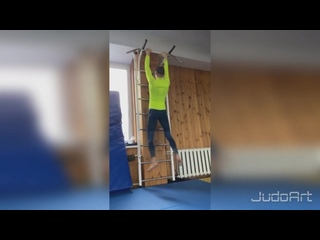 Daria Bilodid Training Дзюдо 001