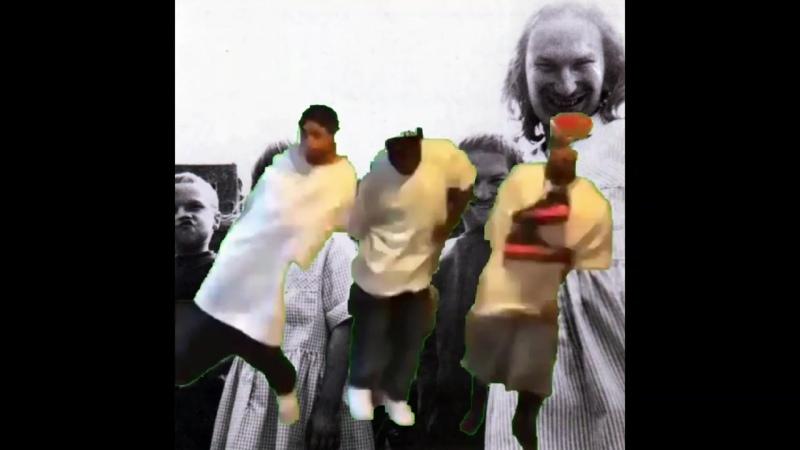 негры танцуют под свою любимую песню aphex twin flim