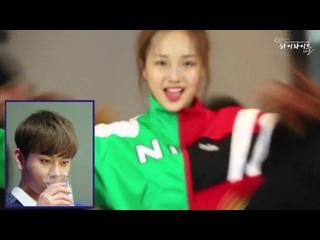 [RUS SUB] Реакция ЧунХёна на кавер хореографии Plz Dont Be Sad в исполнении Kriesha Chu