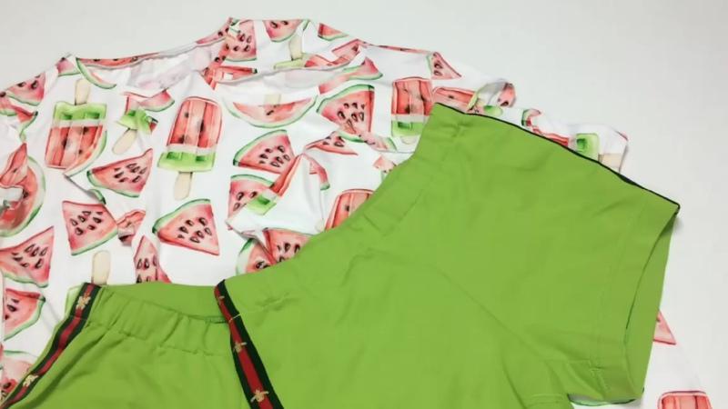 Футболка из кулирки и шорты из футера - лучшее решение для летнего солнцепёка