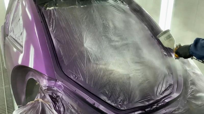 Volkswagen Beetle кузовной ремонт
