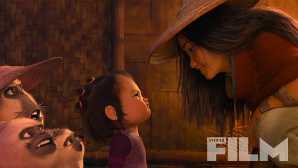 Пара кадров нового мультфильма Disney «Райя и Последний дракон»