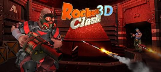 Rocket Clash 3D - online shooter