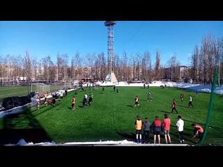 Гол Красникова Никиты в ворота ФК Ленинский