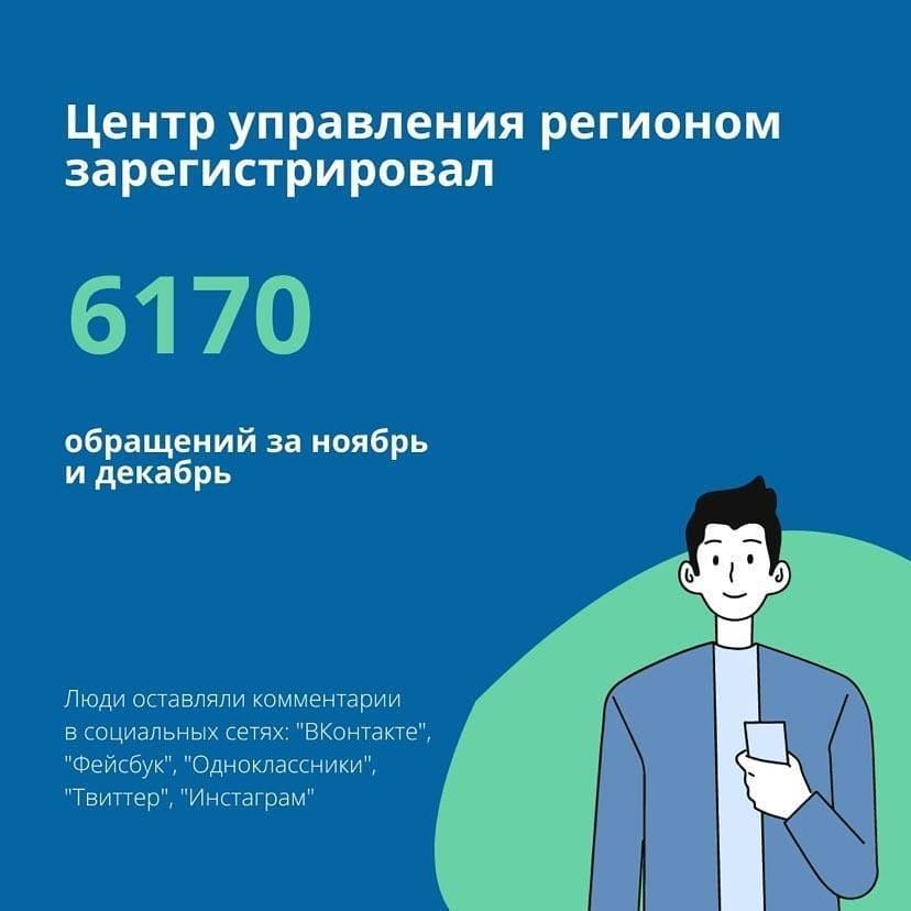 Центр управления регионом ускорил решение локальных проблем жителей области