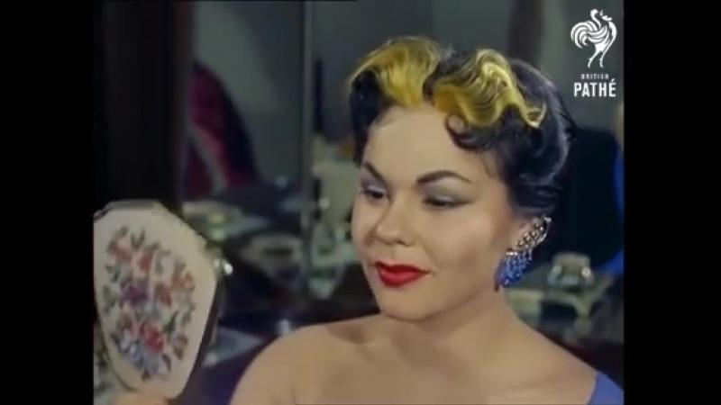 HAIR EXTENSIONS CIRCA 1955