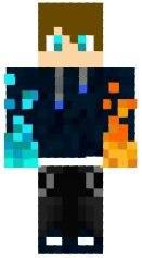 скины майнкрафт пацан с разноцветными глазами #10