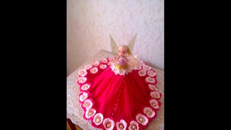 Куколка Цветочная фея, 33 конфеты Осенний вальс.