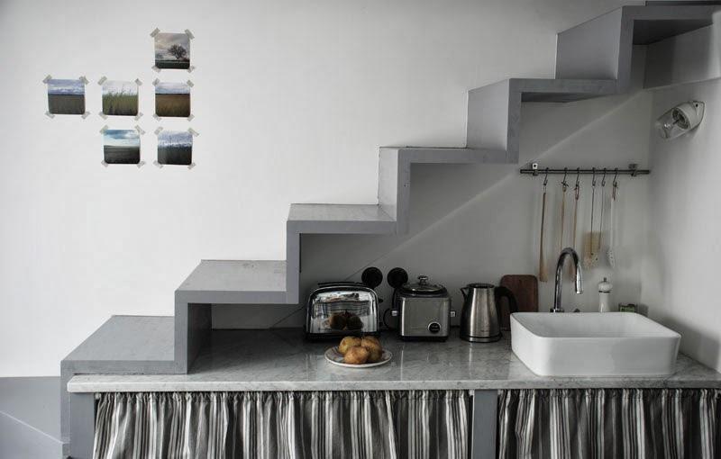 Дизайн квартиры-студии 25 м в Париже.