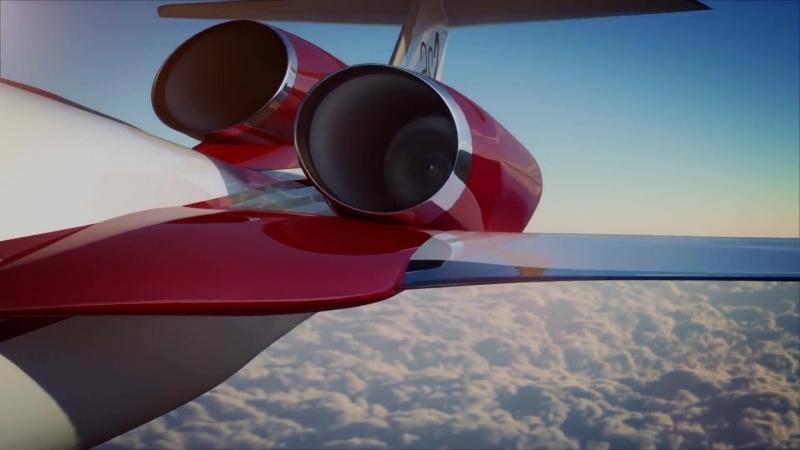 Когда мы полетим быстрее Ту 144 Concorde Boeing SpaceX Boom Virgin Atlantic Aerion Lockheed Martin NASA Airbus as2