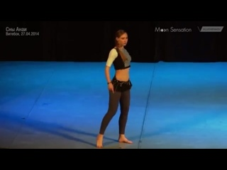 Svetlana Bulash, experimental choreography 2912