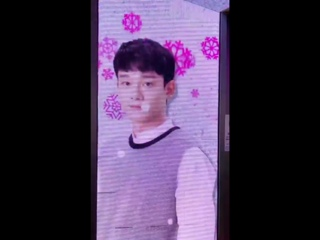 180109 EXO Chen  @ Star Avenue with EXO at Lotte Duty Free