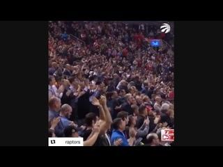 Болельщики «Торонто» стоя аплодировали Винсу Картеру