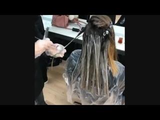 Восхитительное преображение. (Стрижка , Укладка , парикмахер , локоны , прическа , каре, короткие волосы )
