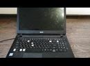 Ноутбук Acer es1-455 проведена чистка от пыли и заменена клавиатура