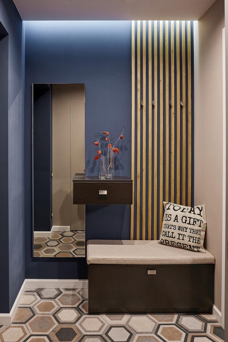 Дизайн квартиры-студии 29 м в Кирове.