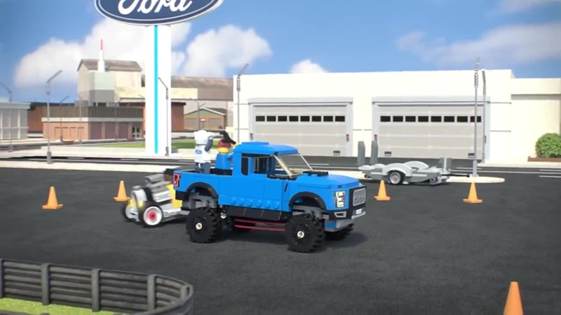 Lego 75875 Speed Champions Ford F 150 Raptor and Ford Model A Hot Rod Форд Ф 150 Раптор и Хотрод