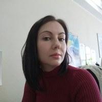 Фотография страницы Оли Березинец ВКонтакте