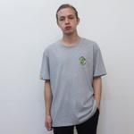 """Серая классическая футболка DANIELITO STREETWEAR с вышивкой """"Я НЕ ТАКОЙ, КАК ВСЕ"""""""