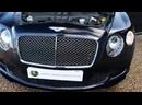 Bentley Continental GT Speed Convertible 6.0L W12 TwinTurbo in Dark Sapphire