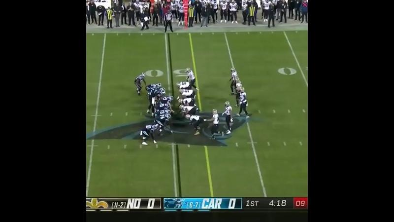5️⃣0️⃣ days until Panthers football returns! Throwback to Christian McCaffrey's 50-yard touchdown pass to Chris Manhertz vs the