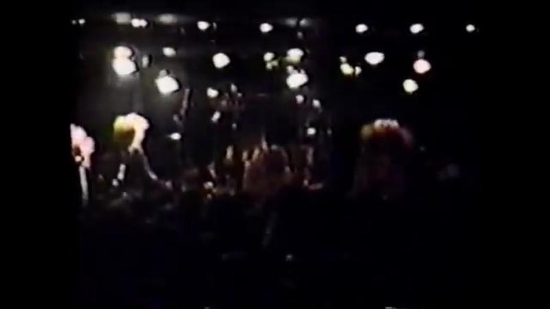 LUNA SEALUNACY 1st Anniversary of Oneman Kurofuku Gentei GIG LIVE at Machida The Play House, 1990.6.10.