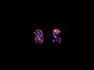 Плазменный шар, волшебная Лунная лампа, USB, электростатический
